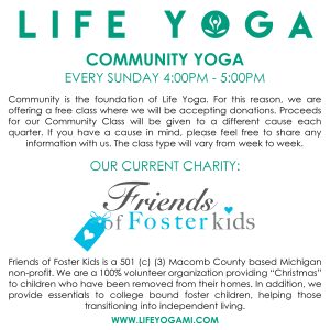 Life Yoga Community Yoga Classes