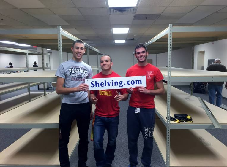 """FALCONS VOLUNTEER TO ASSIST """"Friends of Foster Kids!"""""""