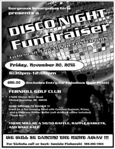 Disco Night Fundraiser 2015