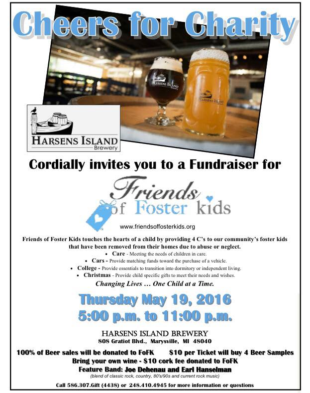 Harsens Island Brewery Fundraiser