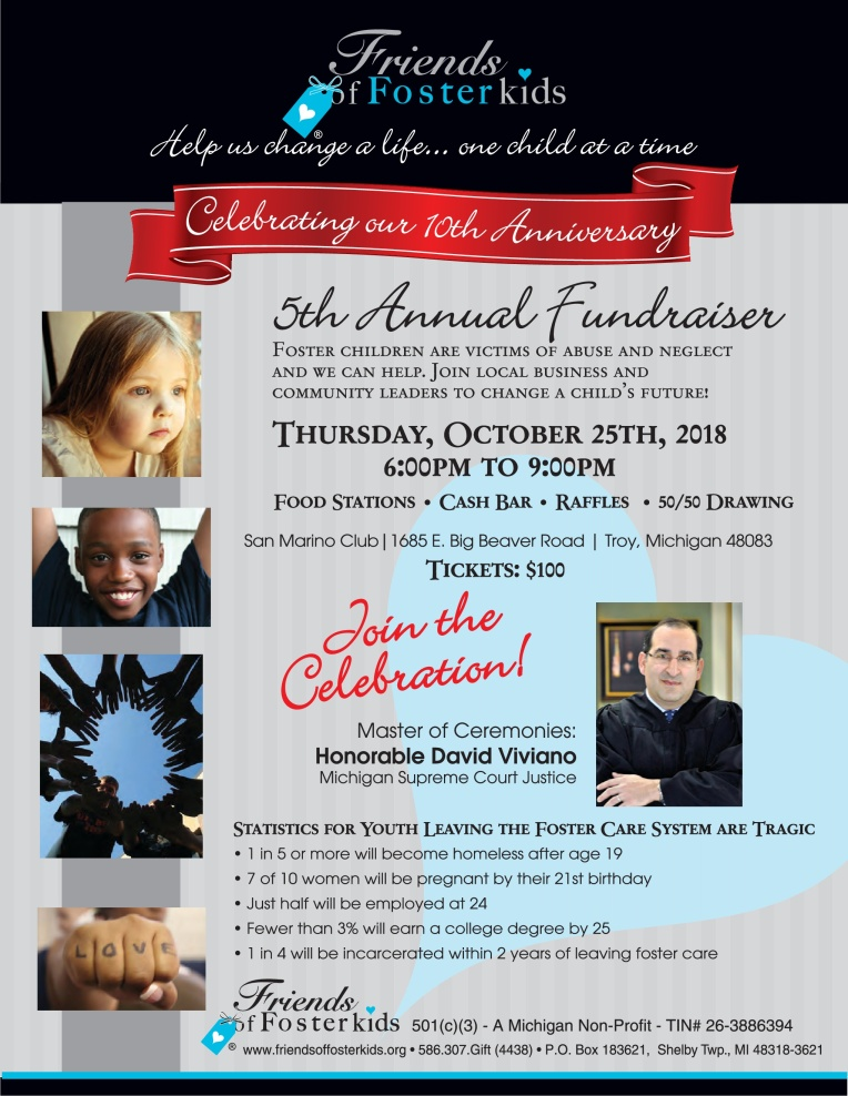 5th Annual Fall Fundraiser